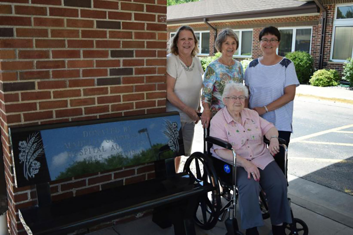 Madelia Health Auxiliary Benches