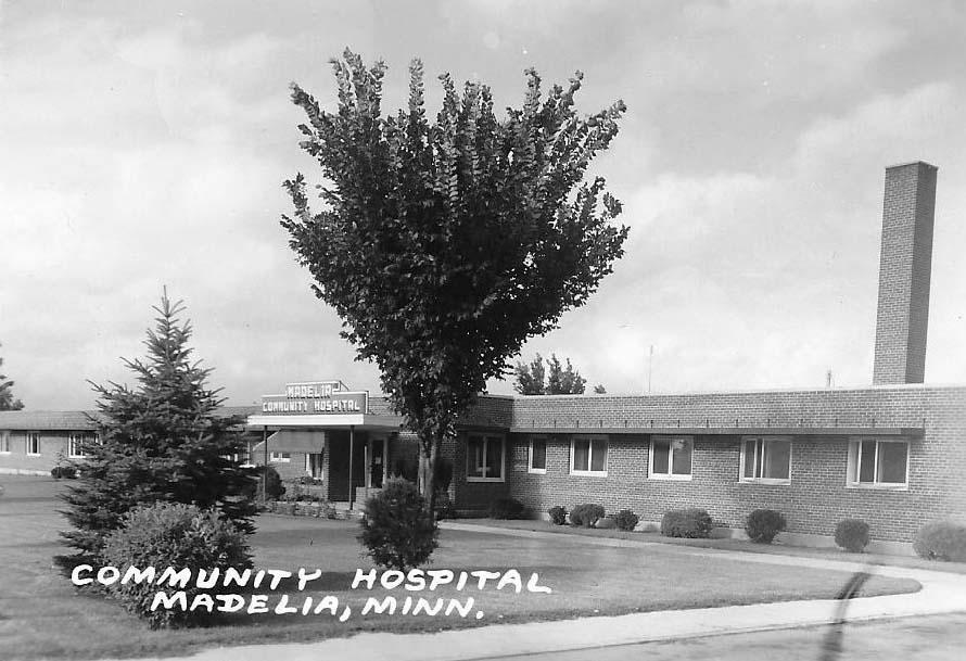 Community Hospital Madelia 1966
