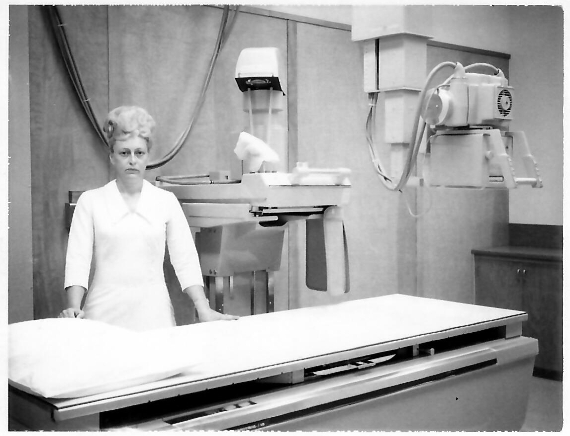 Emily Kunz, RN and Administrator, 1971